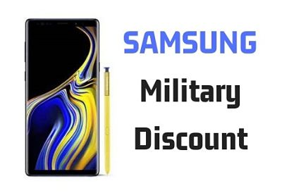 Samsung Military Discount