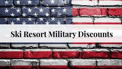 Ski Resort Military Discounts