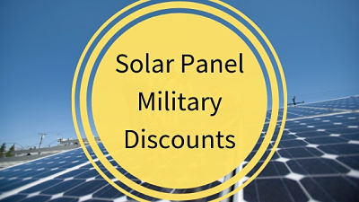 Solar Panel Military Discounts