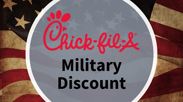 chick Fil A Military Discount