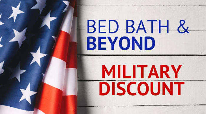Bed Bath & Beyond Military Discount