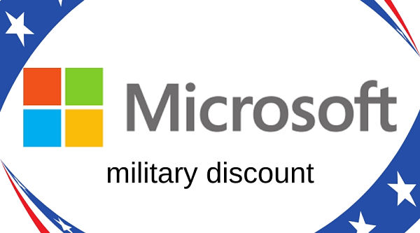 Microsoft Military Discount