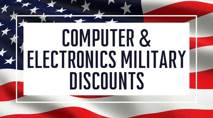 Computer and Electronics Military Discounts