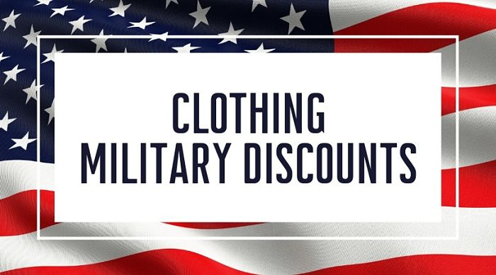 Clothing Military Discounts